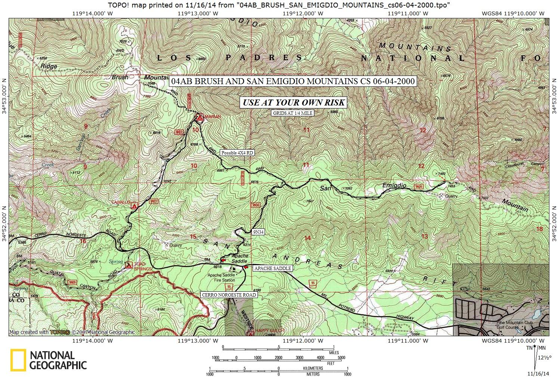 San Emigdio Mountain on map of tehachapi mountains, map of san gabriel mountains, map of sierra madre mountains, map of los gatos mountains, map of southern california mountains,