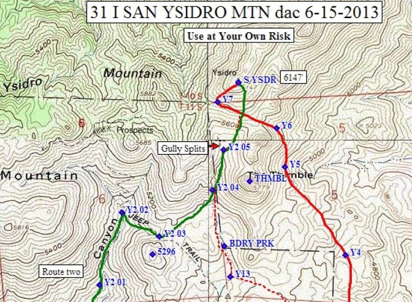 San Isidro California Map.San Ysidro Mountain